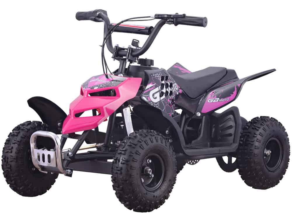 MotoTec 24v 250w ATV Mini Monster v1 Pink_5