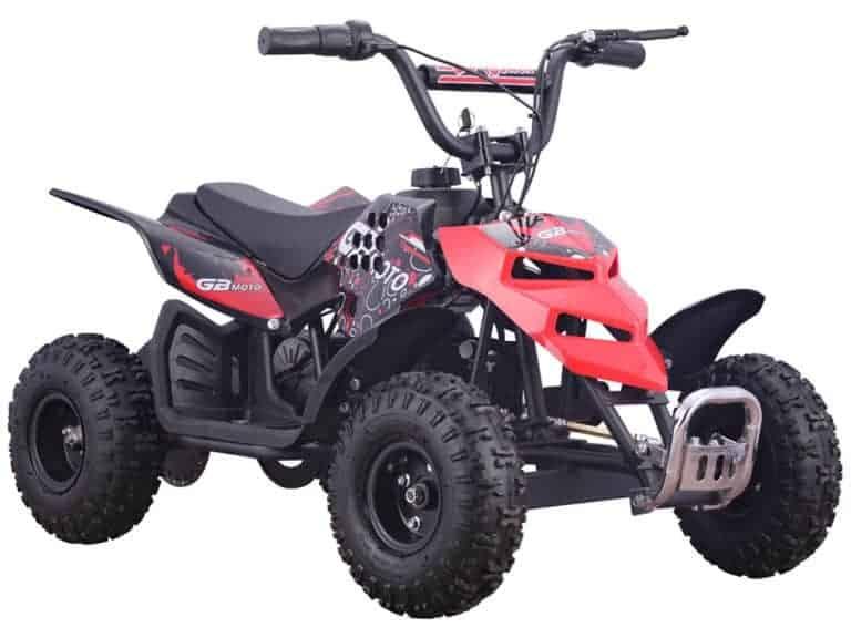MotoTec 24v 250w ATV Mini Monster v1 Red