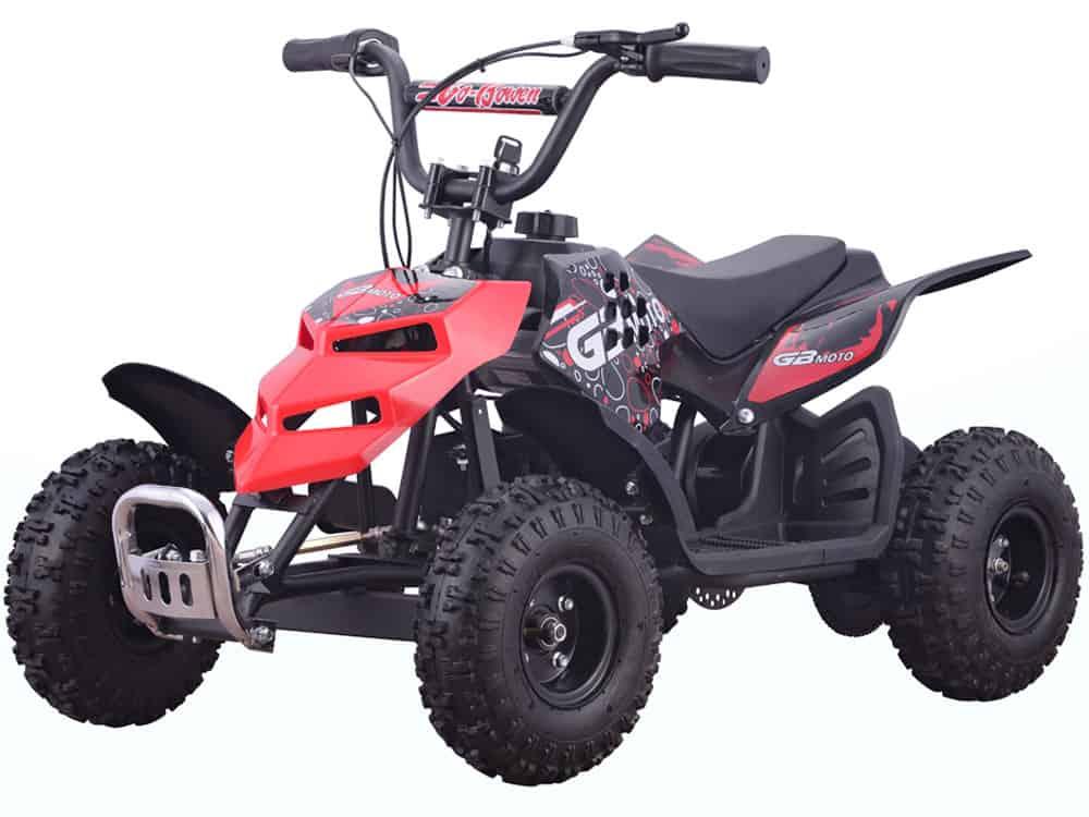 MotoTec 24v 250w ATV Mini Monster v1 Red_5
