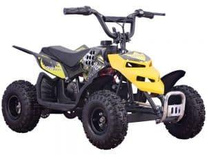 MotoTec 24v 250w ATV Mini Monster v1 Yellow