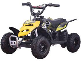 MotoTec 24v 250w ATV Mini Monster v1 Yellow_6