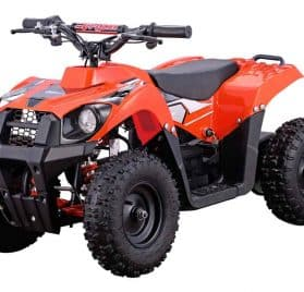 MotoTec 36v 500w ATV Monster v6 Orange_3