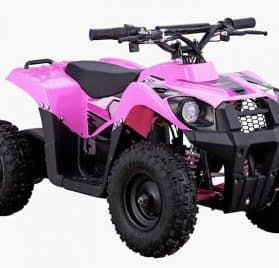 MotoTec 36v 500w ATV Monster v6 Pink