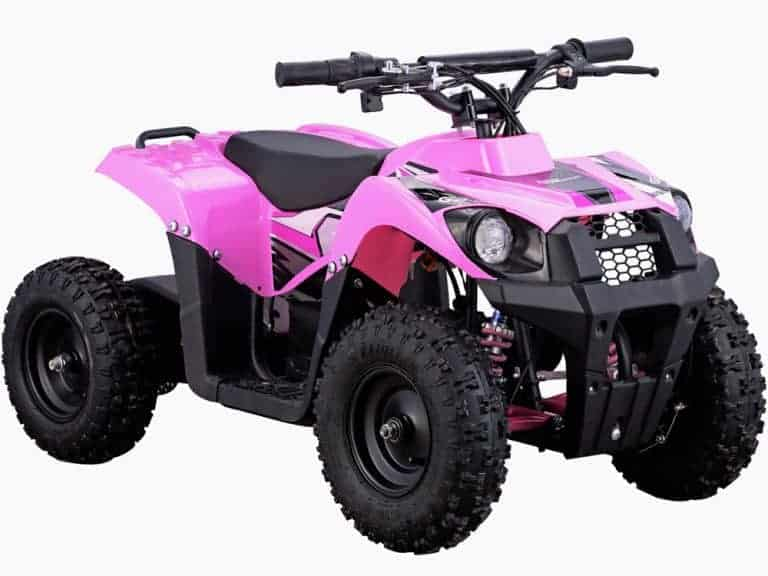 MotoTec 36v 500w ATV Monster v6 Pink