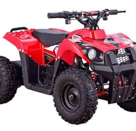 MotoTec 36v 500w ATV Monster v6 Red