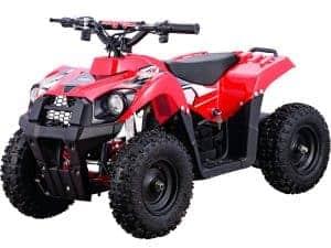 MotoTec 36v 500w ATV Monster v6 Red_4