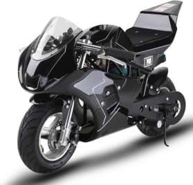 MotoTec 36v 500w Electric Pocket Bike GP Black_2