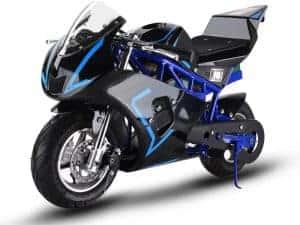 MotoTec 36v 500w Electric Pocket Bike GP Blue_2