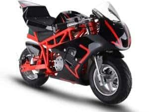 MotoTec 36v 500w Electric Pocket Bike GP Red