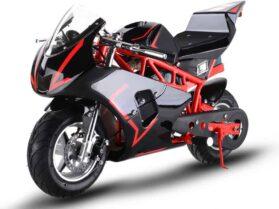 MotoTec 36v 500w Electric Pocket Bike GP Red_2