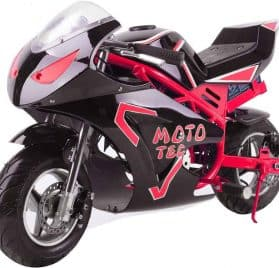 MotoTec 36v 500w Electric Pocket Bike GT Red_4