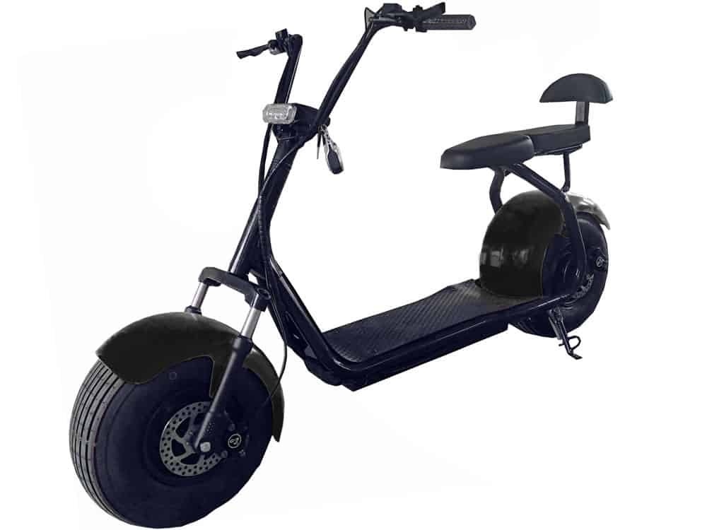 MotoTec Commuter 1000w Lithium Electric Scooter Black