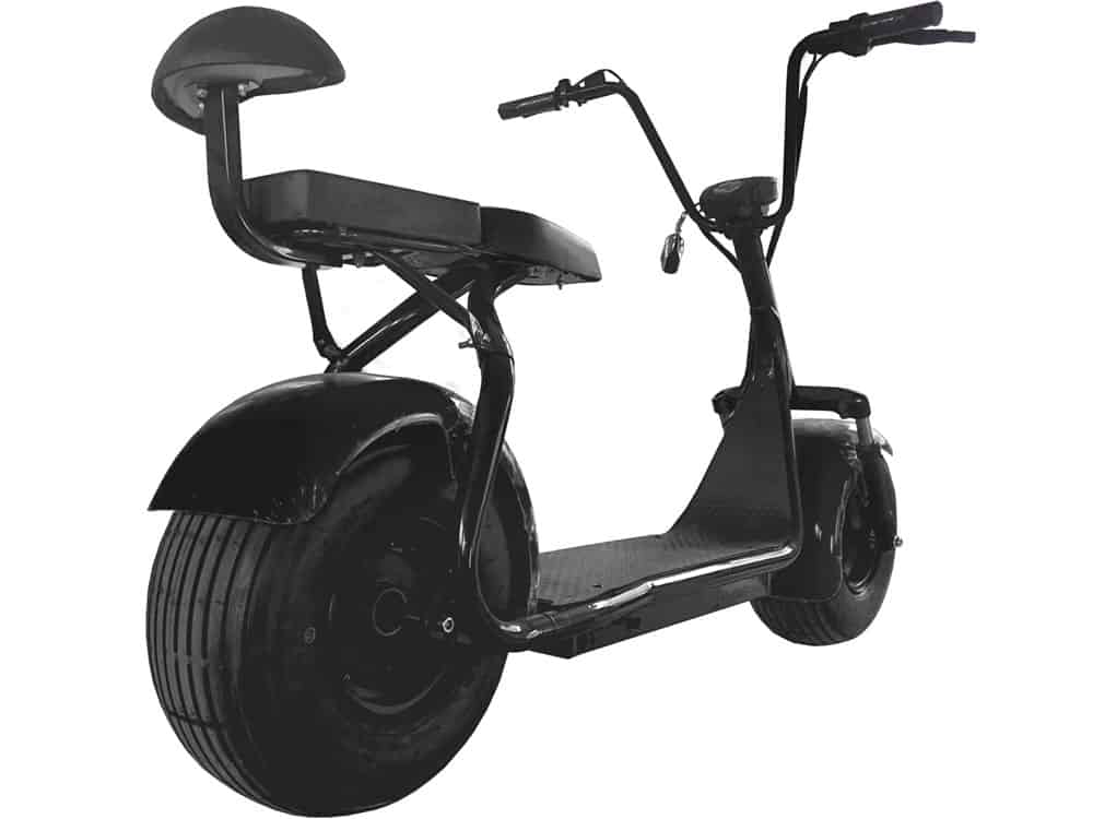 MotoTec Commuter 1000w Lithium Electric Scooter Black_4
