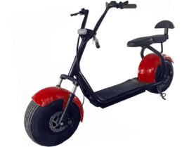 MotoTec Commuter 1000w Lithium Electric Scooter Red