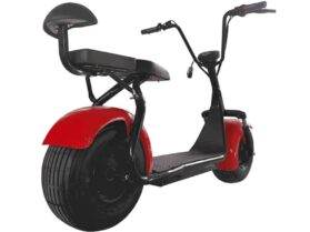 MotoTec Commuter 1000w Lithium Electric Scooter Red_4