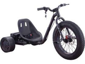 MotoTec Drifter 36v 900w Electric Trike Black