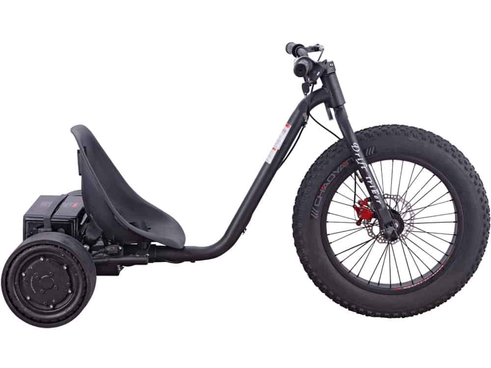 MotoTec Drifter 36v 900w Electric Trike Black_2