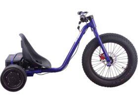 MotoTec Drifter 36v 900w Electric Trike Blue_2
