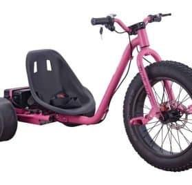 MotoTec Drifter 36v 900w Electric Trike Pink