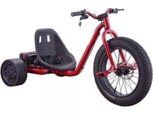 MotoTec Drifter 36v 900w Electric Trike Red