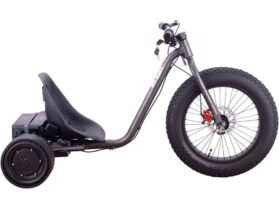 MotoTec Drifter 36v 900w Electric Trike Silver_2