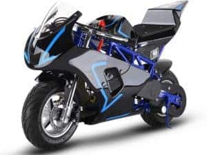 MotoTec Gas Pocket Bike GP 33cc 2-Stroke Blue_2