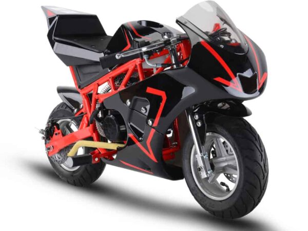 MotoTec Gas Pocket Bike GP 33cc 2-Stroke Red