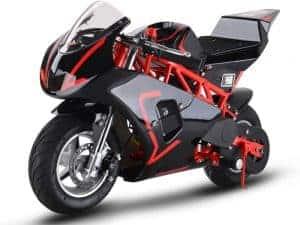 MotoTec Gas Pocket Bike GP 33cc 2-Stroke Red_4