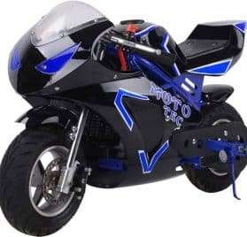 MotoTec Gas Pocket Bike GT 49cc 2-Stroke Blue_2