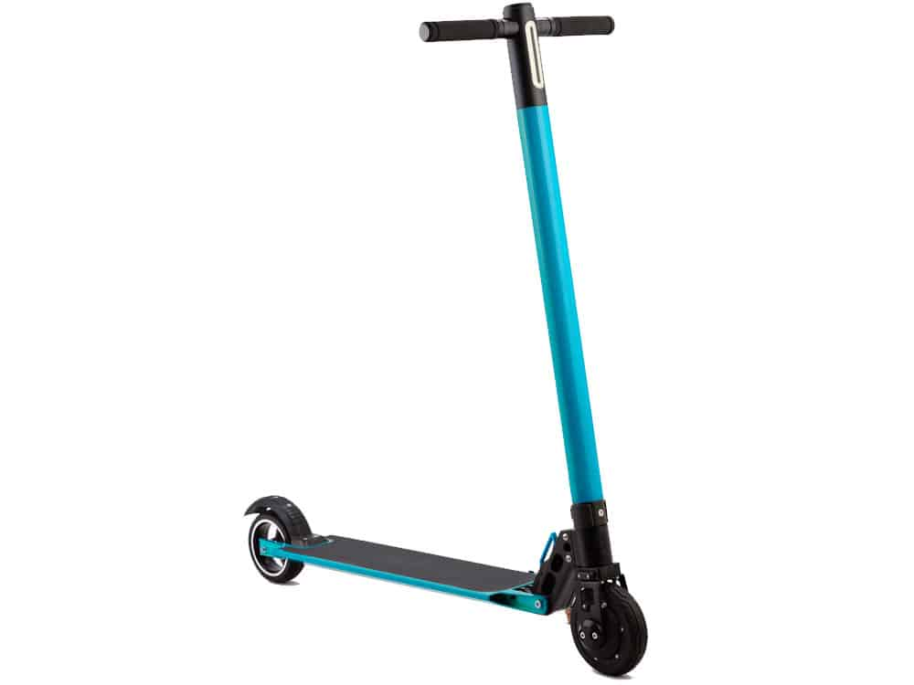 MotoTec Rover 250w Lithium Electric Scooter Blue