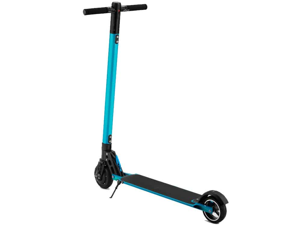 MotoTec Rover 250w Lithium Electric Scooter Blue_2