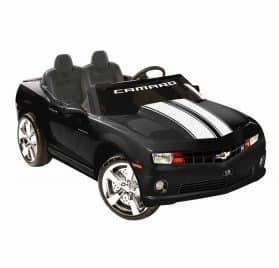 NPL Chevrolet Racing Camaro Black 12v Car Black