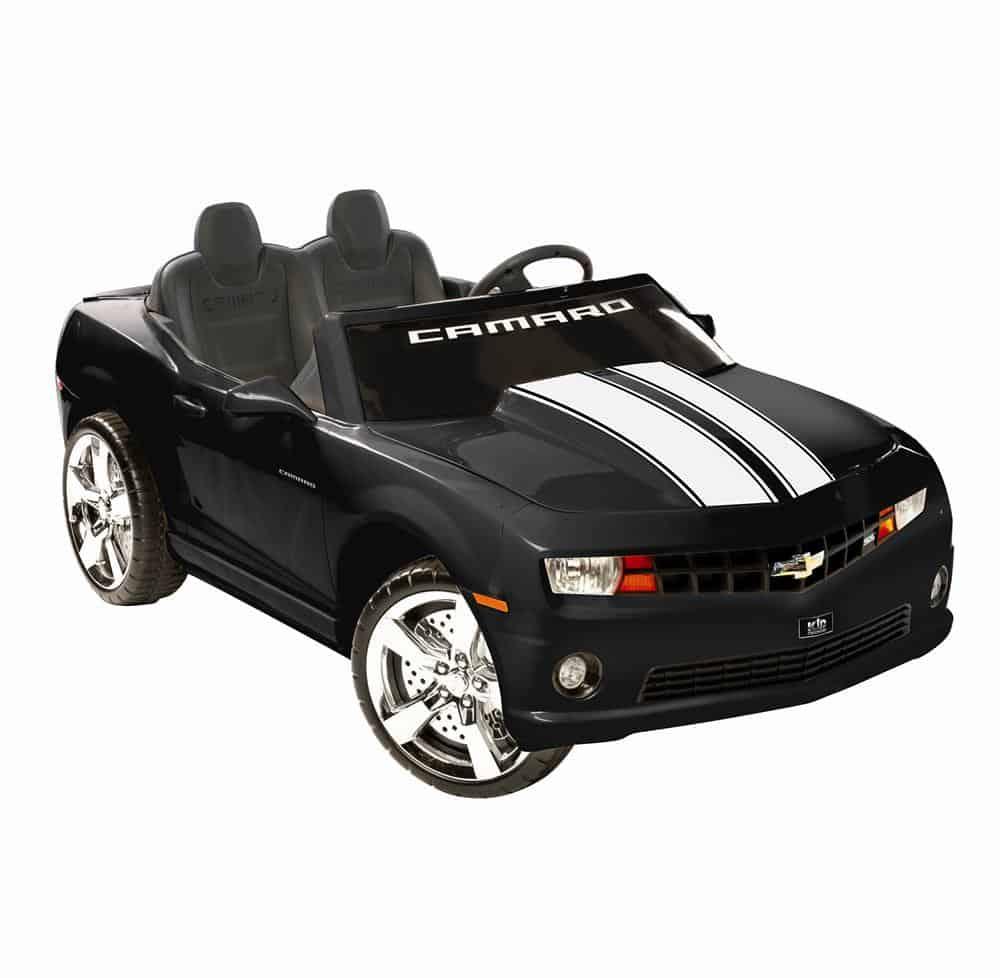 NPL Chevrolet Racing Camaro Black 12v Car Black