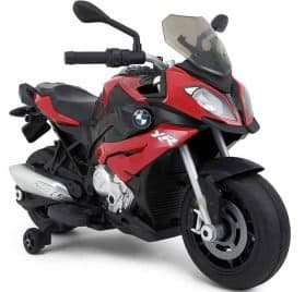 Rastar BMW S1000XR 12v Motorcycle Red_5