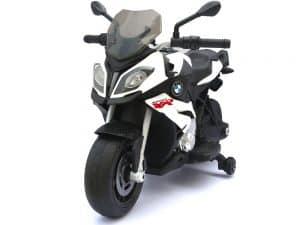 Rastar BMW S1000XR 12v Motorcycle White_2