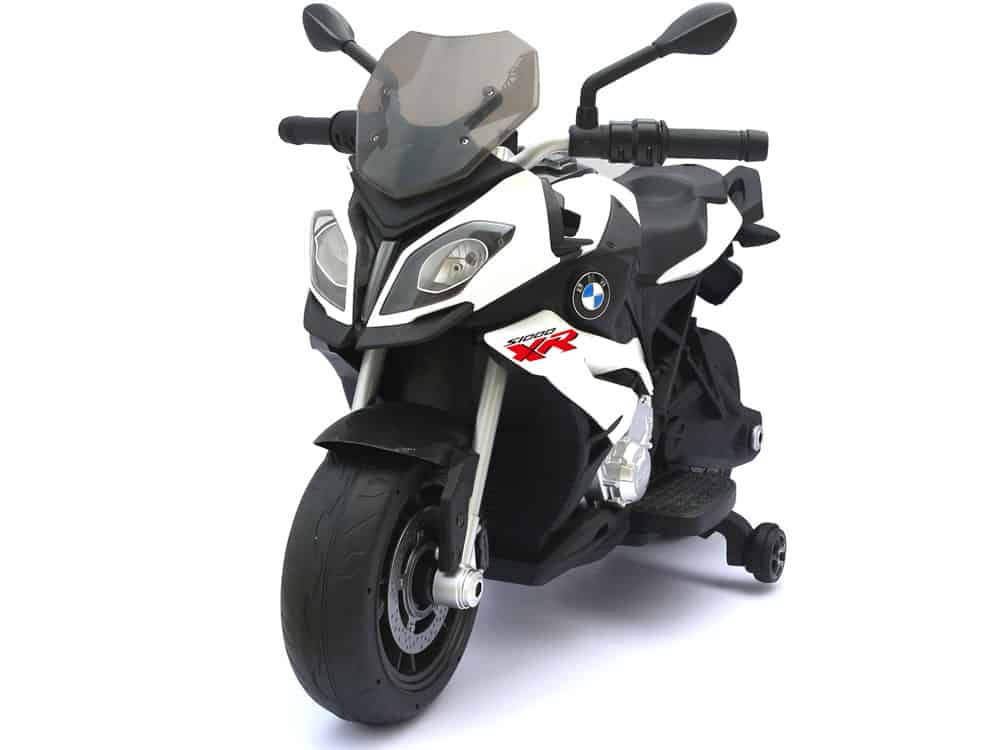 Rastar BMW S1000XR 12v Motorcycle White_2