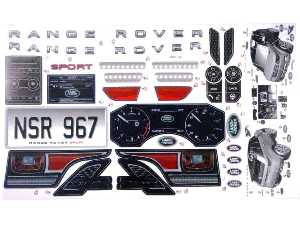 Feber Range Rover Sticker Kit