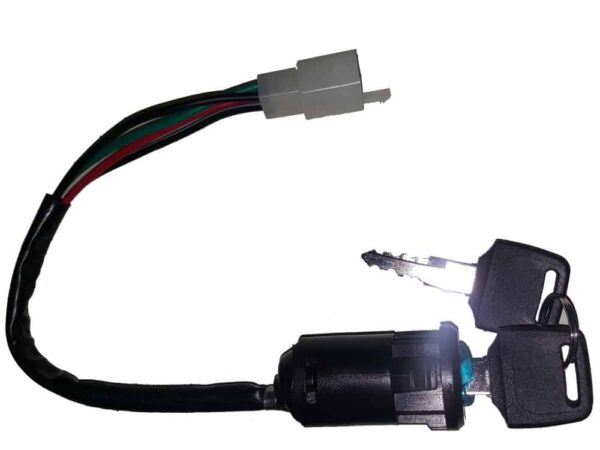 Ignition Switch with Key - 4 Wire