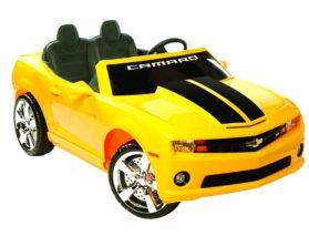 NPL Chevrolet Racing Camaro 12v Car Yellow