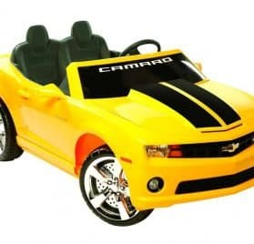 NPL Chevrolet Racing Camaro 12v Car Yellow