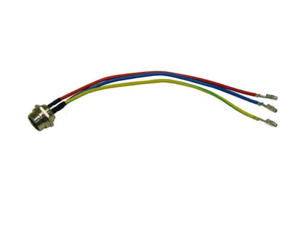 MotoTec Electric Trike 350w - Wire Harness (3-Prong) Female