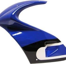 MotoTec Gas Pocket Bike - Left Body Blue