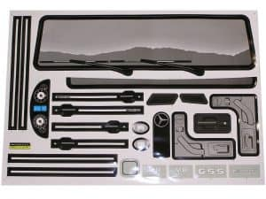 NPL Mercedes Benz G55 12v Truck - Sticker Kit A