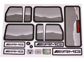 NPL Mercedes Benz G55 12v Truck - Sticker Kit B