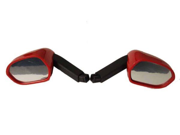 Rastar LaFerrari Side Mirrors Red