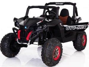 Mini Moto UTV 4x4 12v Black (2.4ghz RC)