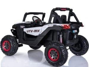 Mini Moto UTV 4x4 12v White (2.4ghz RC)_2
