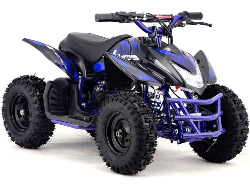 MotoTec 24v Mini Quad Titan v5 Blue