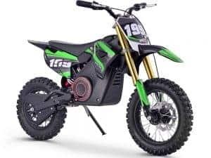 MotoTec 36v Pro Electric Dirt Bike 1000w Lithium Green