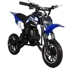 MotoTec 49cc GB Dirt Bike Blue_5